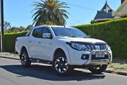 2016 Mitsubishi Triton MQ MY17 Exceed Double Cab White 5 Speed Sports Automatic Utility Thorngate Prospect Area Preview