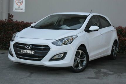 2015 Hyundai i30 GD3 Series II MY16 Active X White 6 Speed Manual Hatchback Maitland Maitland Area Preview