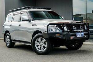 2012 Nissan Patrol Y62 ST-L Silver 7 Speed Sports Automatic Wagon