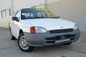 1997 Toyota Starlet Group X White 5 Speed Manual Hatchback Ashmore Gold Coast City Preview