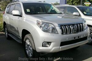 2010 Toyota Landcruiser Prado KDJ150R Kakadu Black 5 Speed Sports Automatic Wagon Wangara Wanneroo Area Preview