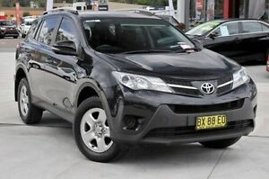 2013 Toyota RAV4 ZSA42R GX (2WD) Black 7 Speed Continuous Variable Wagon Wyoming Gosford Area Preview