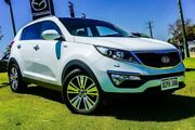 2014 Kia Sportage SL Series II MY13 Platinum White 6 Speed Sports Automatic Wagon Wangara Wanneroo Area Preview