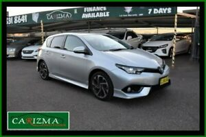 2016 Toyota Corolla ZRE182R MY15 SX Silver 7 Speed CVT Auto Sequential Hatchback Seven Hills Blacktown Area Preview