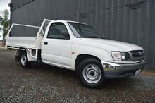 2004 Toyota Hilux RZN147R MY04 Workmate White 5 Speed Manual Cab Chassis Cobram Moira Area Preview