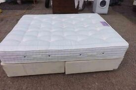 King size double sprung edged divan
