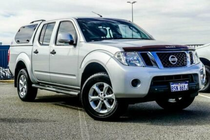 2012 Nissan Navara D40 MY12 ST (4x4) Silver 6 Speed Manual Dual Cab Pick-up Wangara Wanneroo Area Preview