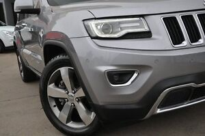 2013 Jeep Grand Cherokee WK MY14 Limited (4x4) Silver 8 Speed Automatic Wagon Dee Why Manly Area Preview