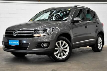 2014 Volkswagen Tiguan 5N MY14 155TSI DSG 4MOTION Grey 7 Speed Sports Automatic Dual Clutch Wagon Thornlie Gosnells Area Preview