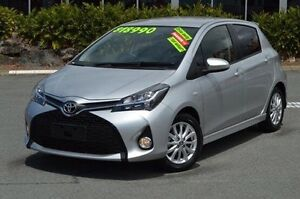2014 Toyota Yaris Silver Automatic Hatchback Highland Park Gold Coast City Preview