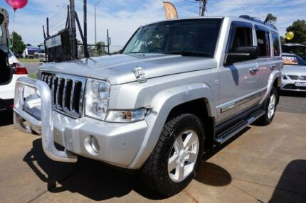 2007 Jeep Commander XH Limited Bright Silver 5 Speed Sports Automatic Wagon