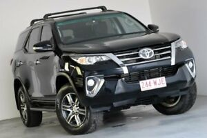 2015 Toyota Fortuner GUN156R GXL Black 6 Speed Automatic Wagon Albion Brisbane North East Preview