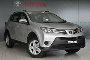 2013 Toyota RAV4 ZSA42R GX 2WD Silver Pearl 7 Speed Constant Variable Wagon Glebe Inner Sydney Preview