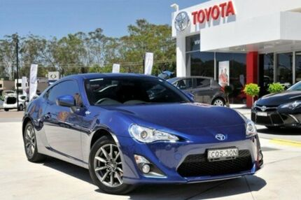 2013 Toyota 86 ZN6 GT Sonic Blue 6 Speed Manual Coupe Wyoming Gosford Area Preview
