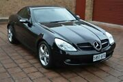 2005 Mercedes-Benz SLK350 R171 MY06 Black 7 Speed Automatic Roadster Stepney Norwood Area Preview