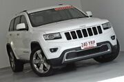 2013 Jeep Grand Cherokee WK MY2014 Limited White 8 Speed Sports Automatic Wagon Kedron Brisbane North East Preview