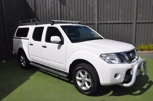 2013 Nissan Navara D40 S6 MY12 ST 4x2 White 5 Speed Sports Automatic Utility Knoxfield Knox Area Preview