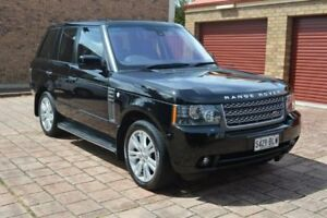 2010 Land Rover Range Rover Vogue L322 10MY TDV8 Luxury Black 6 Speed Sports Automatic Wagon Norwood Norwood Area Preview