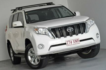 2015 Toyota Landcruiser Prado KDJ150R MY14 GXL White 5 Speed Sports Automatic Wagon Albion Brisbane North East Preview
