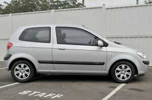 2007 Hyundai Getz TB MY07 SX Silver 5 Speed Manual Hatchback North Gosford Gosford Area Preview