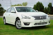 2015 Nissan Altima L33 ST X-tronic White 1 Speed Constant Variable Sedan Wangara Wanneroo Area Preview