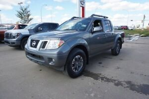 2016 Nissan Frontier 4X4 CREWCAB PRO-4X Accident Free,  Navigati