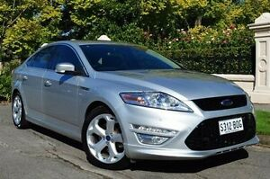 2012 Ford Mondeo MC Titanium PwrShift TDCi Silver 6 Speed Sports Automatic Dual Clutch Hatchback Thorngate Prospect Area Preview