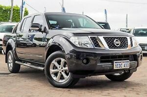 2012 Nissan Navara D40 S6 MY12 ST Black 6 Speed Manual Utility Embleton Bayswater Area Preview