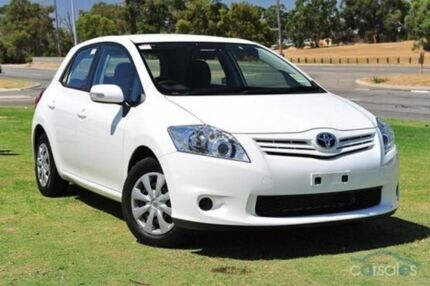 2010 Toyota Corolla ZRE152R MY10 Ascent Glacier White 4 Speed Automatic Hatchback Upper Ferntree Gully Knox Area Preview