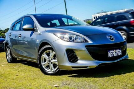 2013 Mazda 3 BL10F2 MY13 Neo Silver 6 Speed Manual Hatchback Wangara Wanneroo Area Preview