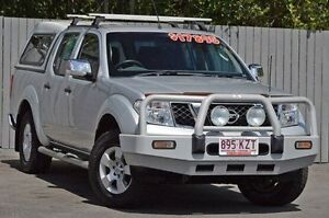 2008 Nissan Navara D40 ST-X Silver 5 Speed Automatic Utility Kedron Brisbane North East Preview