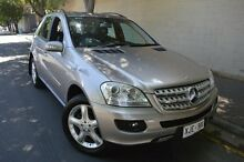 2005 Mercedes-Benz ML350 W163 MY04 Classic Silver 5 Speed Sports Automatic Wagon Stepney Norwood Area Preview