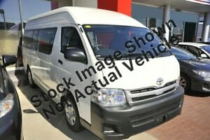 2012 Toyota HiAce TRH223R MY11 Commuter High Roof Super LWB White 4 Speed Automatic Bus Glenorchy Glenorchy Area Preview