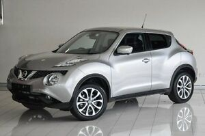 2015 Nissan Juke F15 Series 2 Ti-S X-tronic AWD Silver 1 Speed Constant Variable Hatchback Southport Gold Coast City Preview