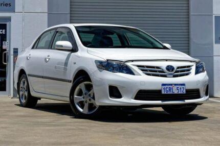 2010 Toyota Corolla ZRE152R Conquest White 4 Speed Automatic Sedan Mandurah Mandurah Area Preview