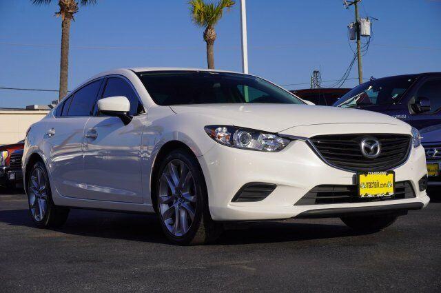 Owner 2017 Mazda Mazda6 Touring 45875 Miles Snowflake White Pearl Mica 4dr Car Regular