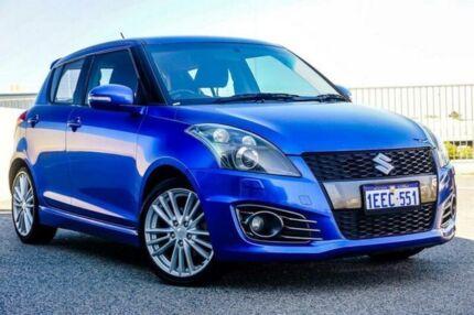 2012 Suzuki Swift FZ Sport Blue 6 Speed Manual Hatchback Wangara Wanneroo Area Preview