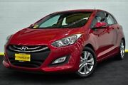 2014 Hyundai i30 GD2 MY14 Trophy Red/Black 6 Speed Sports Automatic Hatchback Canning Vale Canning Area Preview