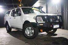 2008 Nissan Navara D40 ST-X White 6 Speed Manual Utility Wangara Wanneroo Area Preview