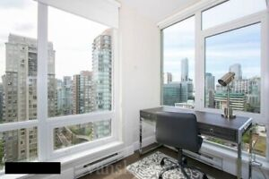 one bedroom flex condo downtown Vancouver fully furnished 4 rent