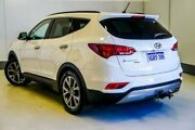 2017 Hyundai Santa Fe DM3 MY17 Active X 2WD White 6 Speed Sports Automatic Wagon Wangara Wanneroo Area Preview
