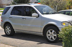 2003 Mercedes-Benz ML 500-Series SUV, Crossover