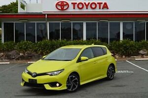2016 Toyota Corolla ZRE182R SX S-CVT Yellow 7 Speed Constant Variable Hatchback Highland Park Gold Coast City Preview
