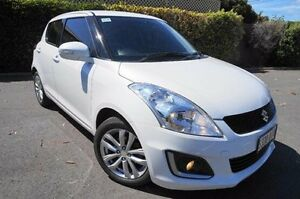 2015 Suzuki Swift FZ MY15 GL Navigator White 5 Speed Manual Hatchback Glenelg East Holdfast Bay Preview