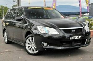 2009 Subaru Liberty B5 MY10 Exiga Lineartronic AWD Premium Black 6 Speed Constant Variable Wagon North Gosford Gosford Area Preview