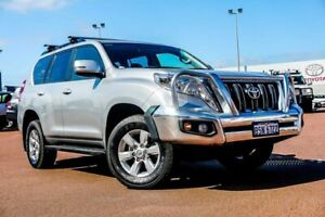 2015 Toyota Landcruiser Prado KDJ150R MY14 GXL Silver 5 Speed Sports Automatic Wagon Balcatta Stirling Area Preview