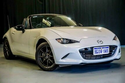2015 Mazda MX-5 ND GT SKYACTIV-Drive White 6 Speed Sports Automatic Roadster