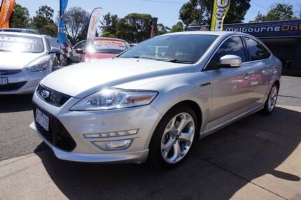 2012 Ford Mondeo MC Titanium PwrShift TDCi Moondust Silver 6 Speed Sports Automatic Dual Clutch Dandenong Greater Dandenong Preview