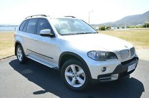 2008 BMW X5 E70 SD Steptronic Silver 6 Speed Sports Automatic Wagon Derwent Park Glenorchy Area Preview