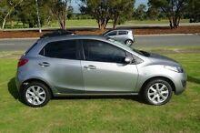 2014 Mazda 2 DE10Y2 MY14 Neo Sport Silver 5 Speed Manual Hatchback Wangara Wanneroo Area Preview